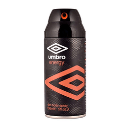 Umbro Energy Body Spray 150Ml Deo Hombre .