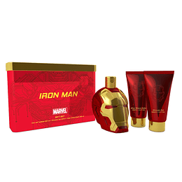 IRONMAN ESTUCHE 3PC 100ML EDT+SHOWER GEL+AFTER SHAVE