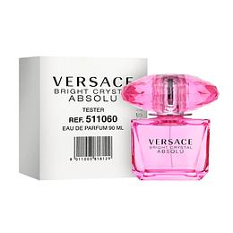 Bright Crystal Absolu Versace Tester Edp 90Ml Mujer