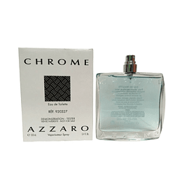 Azzaro Chrome Edt 100Ml Hombre Tester