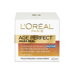 Crema Noche Anti-Arrugas Age Perfect Jalea Real 50ml