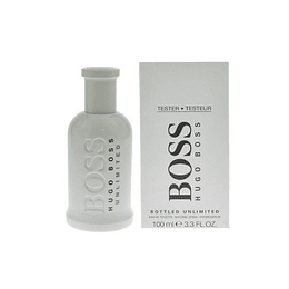 Boss Bottled Unlimited Edt 100Ml Hombre Tester