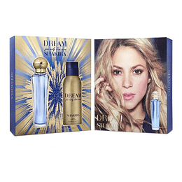Estuche Shakira Dream You Only Live Once Edt 80Ml+ 150Ml Deo 24h Mujer