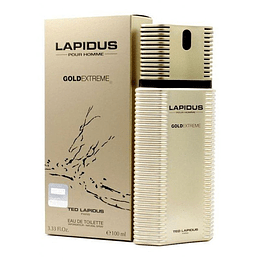 Gold Extreme Ted Lapidus Edt 100Ml Hombre