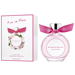 Rochas Fun in Pink Mademoiselle Edt 90ml Mujer