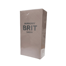 Burberry Brit Sheer Edt 100Ml Mujer