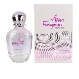 Amo Flowerful Salvatore Ferragamo Edt 50Ml Mujer