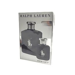 Estuche Polo Black Ralph Lauren Travel Exclusive Edt 125Ml+15Ml Hombre