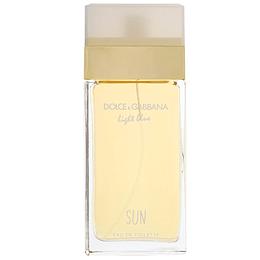 D&G Light blue Sun Pour Femme Edt 100Ml Mujer Tester