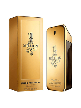 One Million Edt de 200 ml
