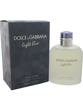 Light Blue Edt de 200 ml