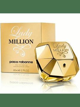 Lady Million Edp de 80 ml