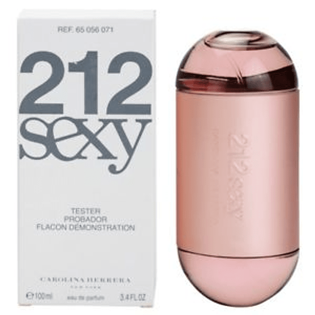 Carolina Herrera 212 Sexy EDP 100 ML Tester (M)
