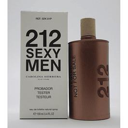 Carolina Herrera 212 Sexy Men EDT 100 ML Tester (H)