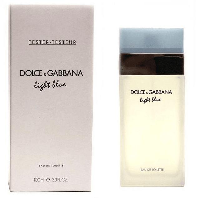 Dolce & Gabbana Light Blue Women EDT 100 ML Tester (M)