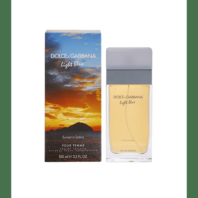 Dolce & Gabbana Light Blue Sunset in Salina EDT 100 ML (M)