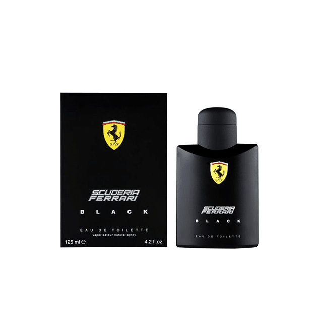 Ferrari Scuderia Black EDT 125 ML (H)
