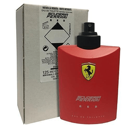 Ferrari Scuderia Red EDT 125 ML Tester (H)
