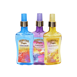 3 X HAWAIIAN TROPIC SUMMER - ISLAND - GOLDEN / ELITE PE