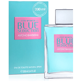 Antonio Banderas Blue Seduction Women EDT 200 ML (M)