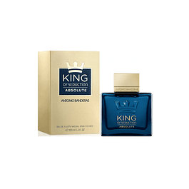 Antonio Banderas King of Seduction Absolute EDT 100 ML (H)