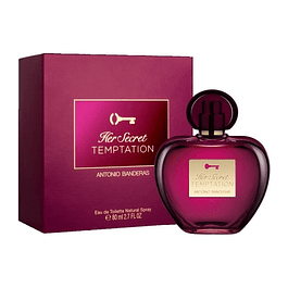 Antonio Banderas Her Secret Temptation EDT 80 ML (M)