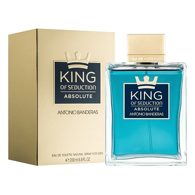 Antonio Banderas King of Seduction Absolute EDT 200 ML (H)