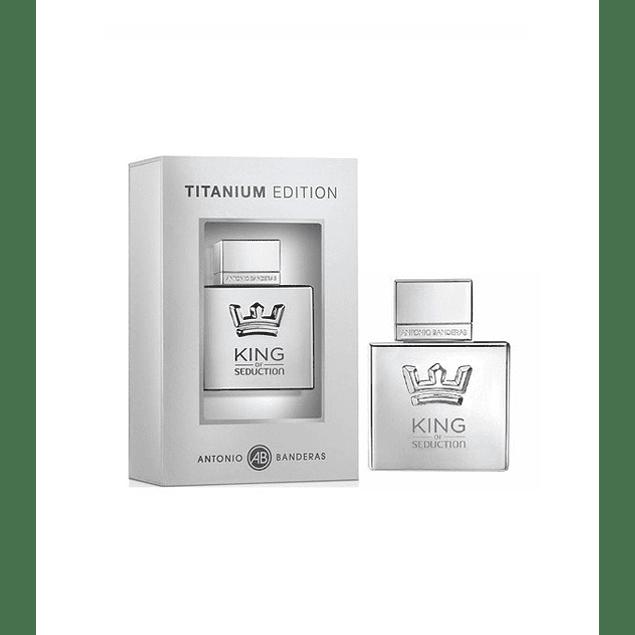 Antonio Banderas King of Seduction Titanium Edition EDT 100 ML (H)