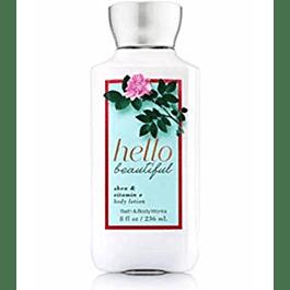 Bath & Body Works Hello Beautiful 236 ML Crema (M)
