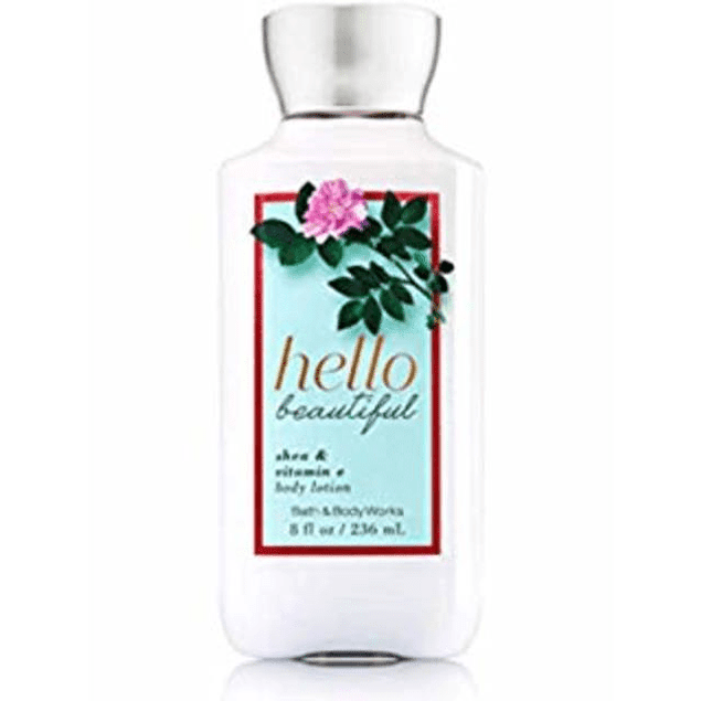 Bath & Body Works Hello Beautiful 236 ML Crema (M)