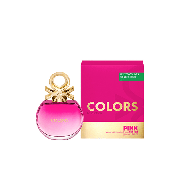 Benetton Colors Pink EDT 80 ML (M)