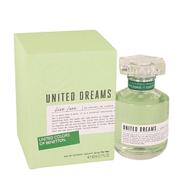 United Dreams Live Free For Her EDT 80 ML (M)