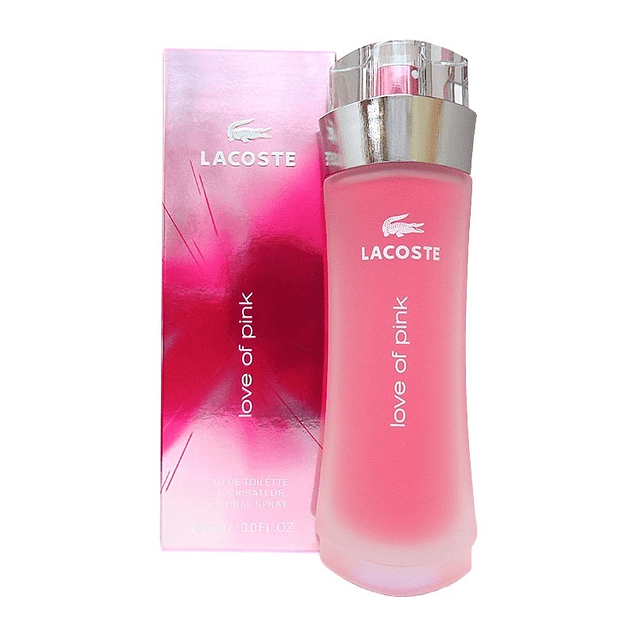 Lacoste Love of Pink EDT 90 ML (M)