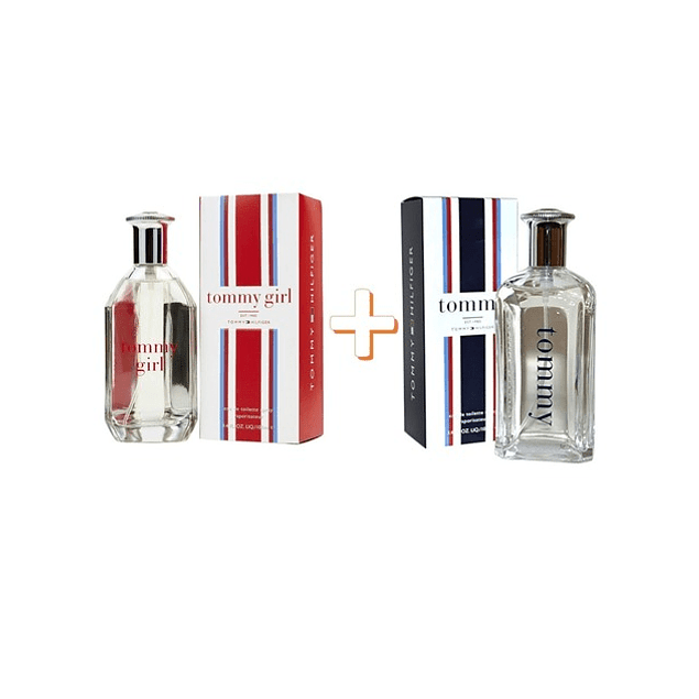 Pack Tommy Men EDT 100 ML + Tommy Girl EDT 100 ML