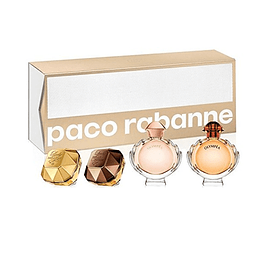 Paco Rabanne Estuche Miniatura Nuevo 4 Piezas (M)