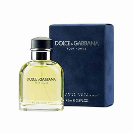 Dolce & Gabbana Pour Homme EDT 75 ML (H)