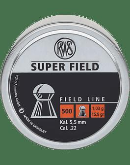 RWS Super Field 5.5 15.89gr (500 unids)