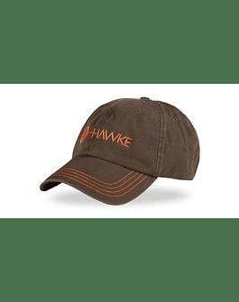 Hawke Distressed Cap Gris/Naranjo
