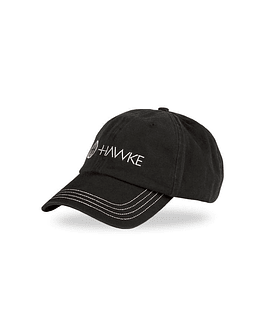 Hawke Distressed Cap Negro/Gris