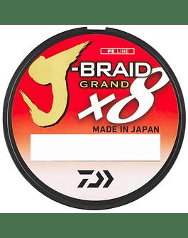 Daiwa J-Braid Grand 8x 0.19mm verde oscuro 270 mts