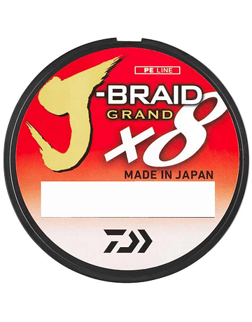 Daiwa J-Braid Grand 8x 0.19mm verde oscuro 270 mts