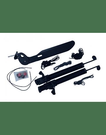 Set Timón G-line, Pedal y Cable