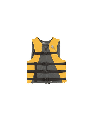 Stearns Salvavidas amarillo adulto