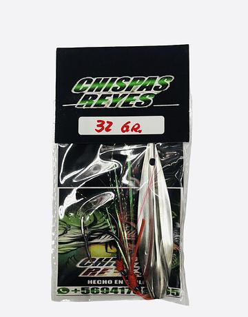 Chispas reyes  32g  Metal blanco