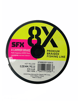 SUFIX SFX 8X 0.23 MM / 200 MT (Amarillo)