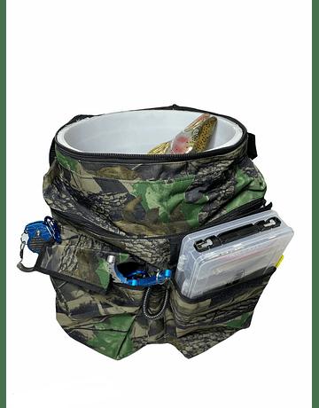 Bolso para balde camuflado