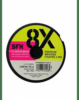 SUFIX SFX 8X 0.28 MM / 200 MT (Verde Oscuro)