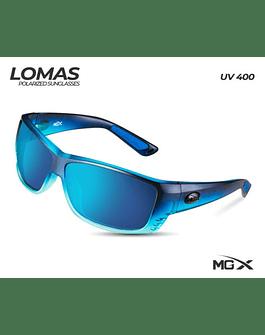 MGX lentes lomas #006 (marco azul/lente azul)