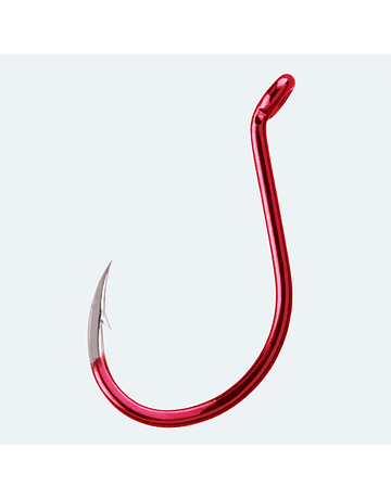 Bkk Red Octopus Beak size 4/0 5 piezas