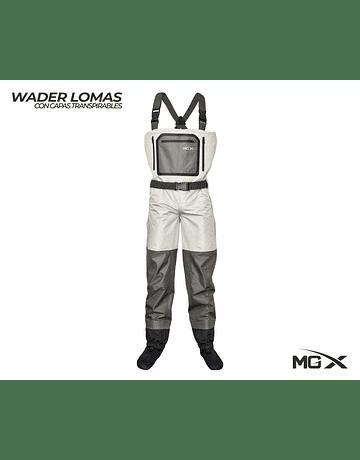Mgx wader respirable